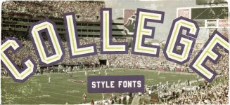 25 of the best free college fonts