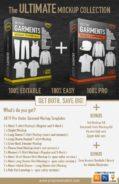 Ultimate vector garment mockup, bonus, Adobe illustrator, Coreldraw