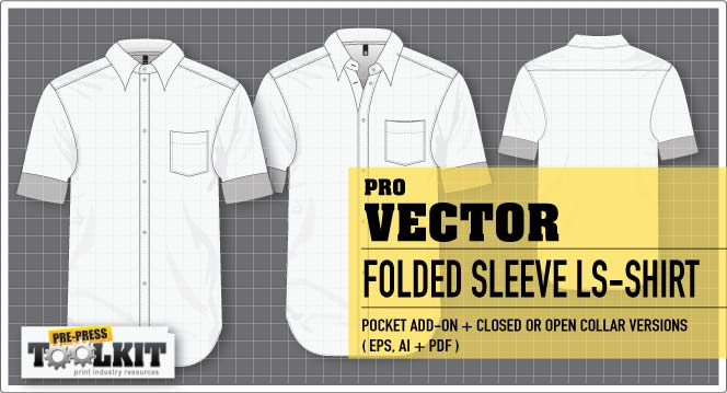vector folded long sleeve shirt mockup template