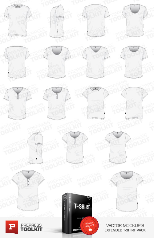 ultimate vector garment mockup kit. Black Bedroom Furniture Sets. Home Design Ideas