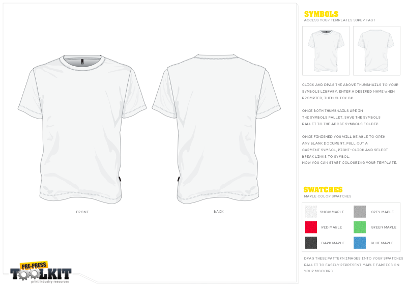 free vector t shirt mock up sample - Free T Shirt Mockup Template