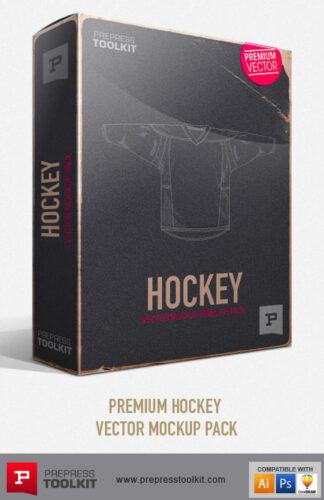 Hockey Vector Mockup Templates Ice Hockey