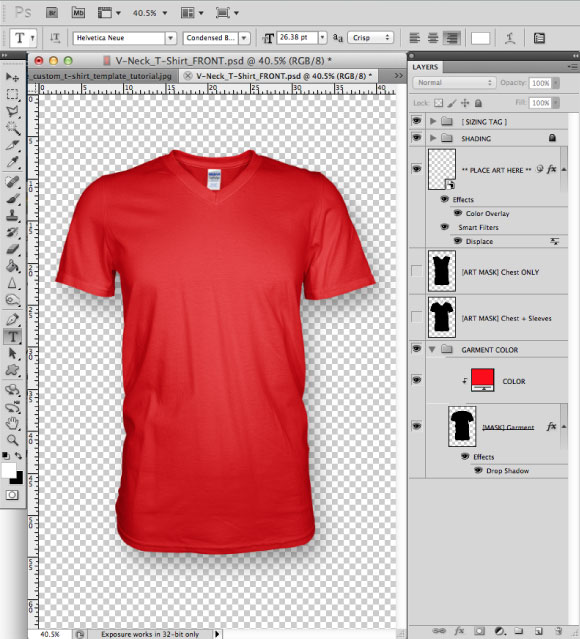 Design Greymarle To Add Template Prepress Shirt T 01 A Fabric 5axYq