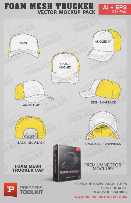 Vector Caps And Hats Mega Mockup Pack
