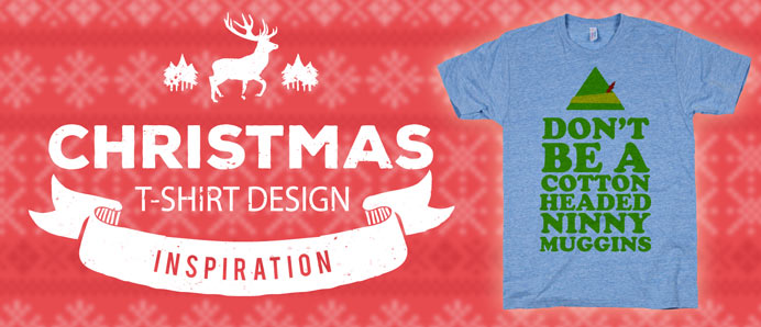 21 Christmas T-Shirt Design Inspirations
