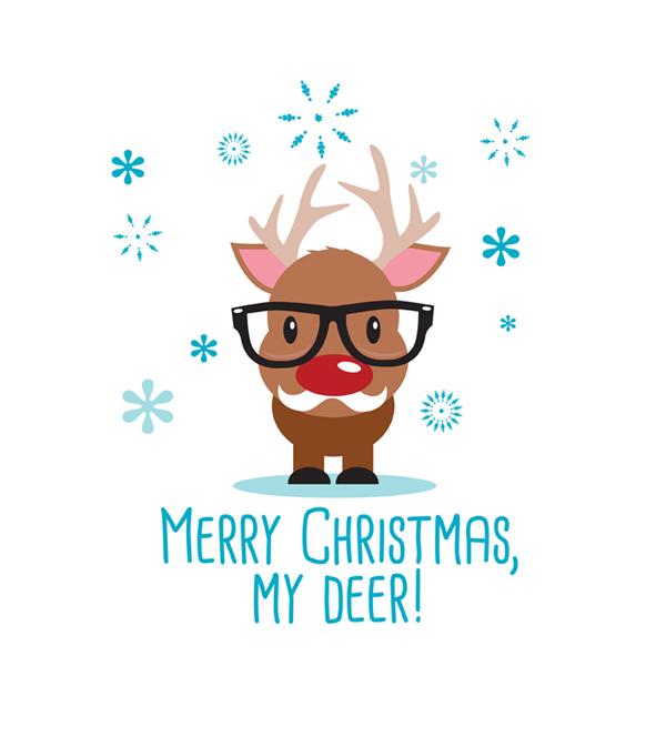 Merry Christmas My Deer T-Shirt