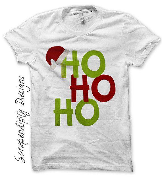 Santa ho ho ho christmas design inspiration