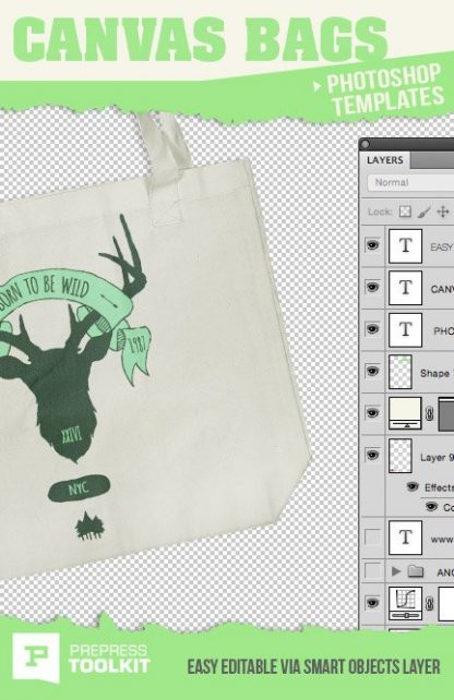canvas tote bag photorealistic ghosted template