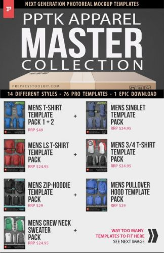 mens and womens apparel mockups clothing templates master collection