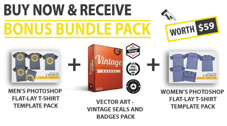 photoshop apparel template bonus bundle