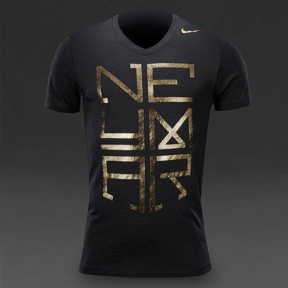 Neymar Hero Gold Foil T-Shirt