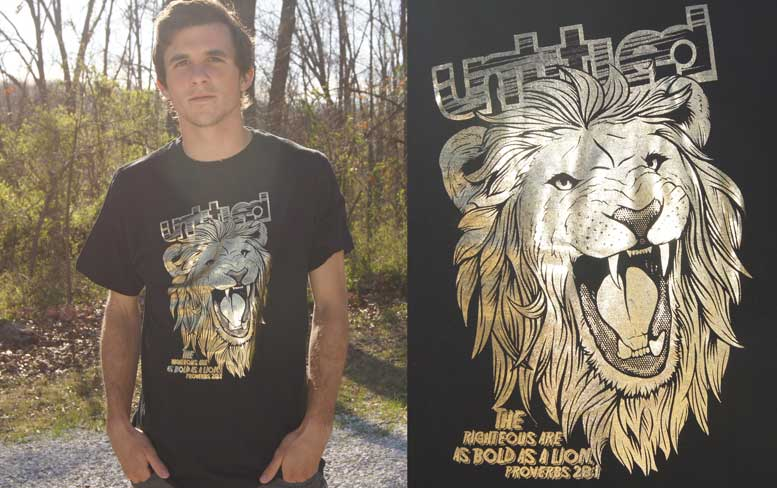 Untitled Skateboards Foil Lion