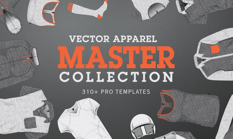apparel mockup templates vector master collection 01