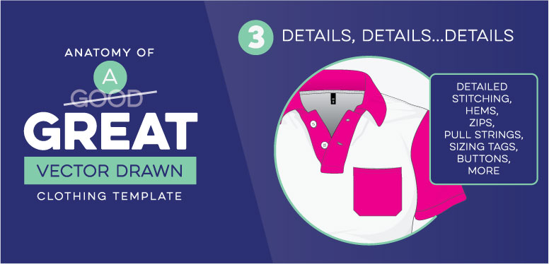 Anatomy of great clothing mockups 03 details
