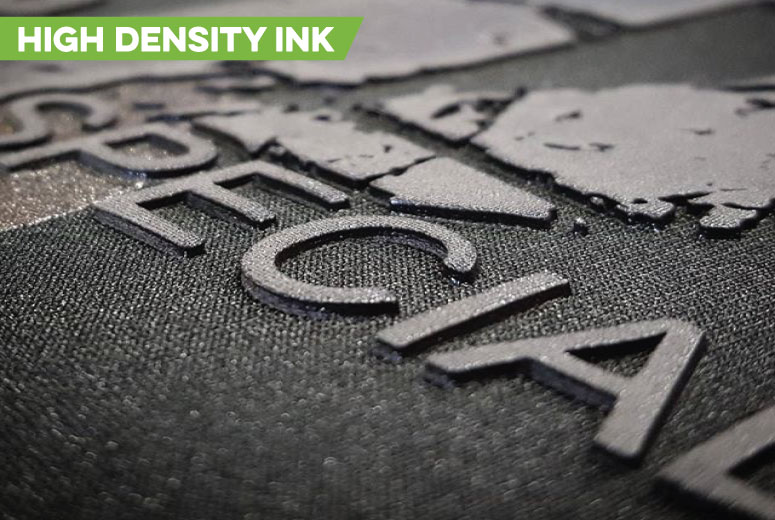 High Density Ink 3d print clothing