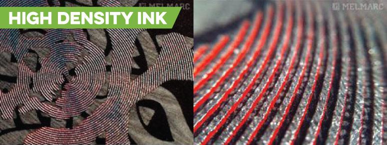High Density Ink metallic topper