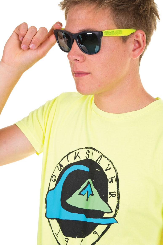 Quiksilver Neon t-shirt print
