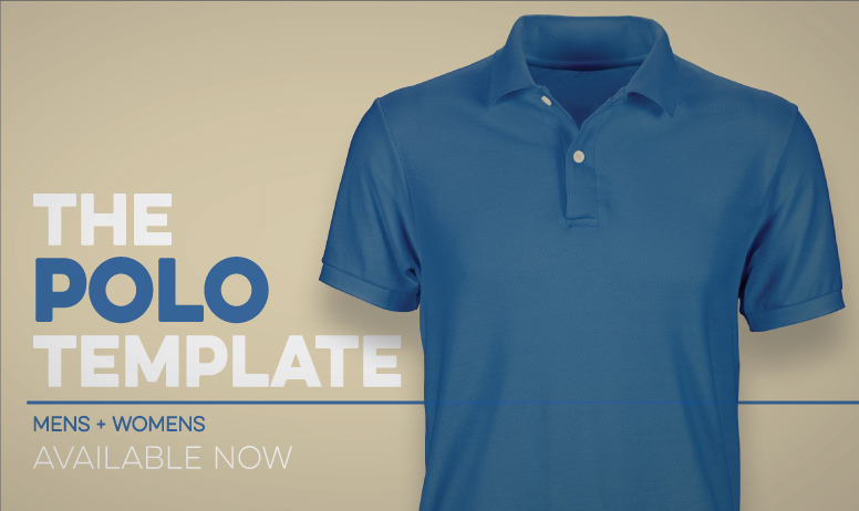 Photoshop Polo Shirt // Pro Template