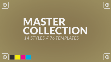Master collection photo real clothing templates psd
