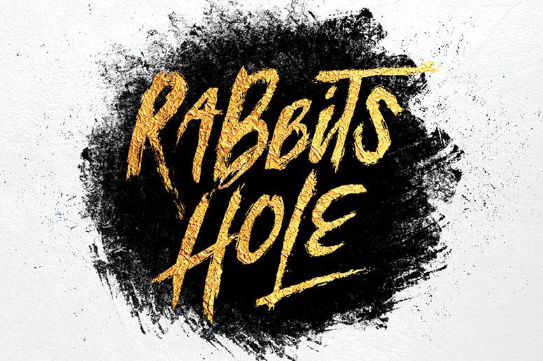07_01 rabbits hole font download bonus