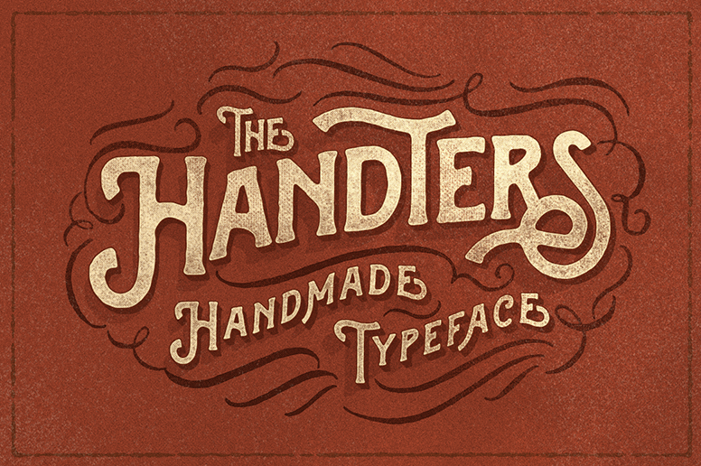handters font download hand crafted typeface