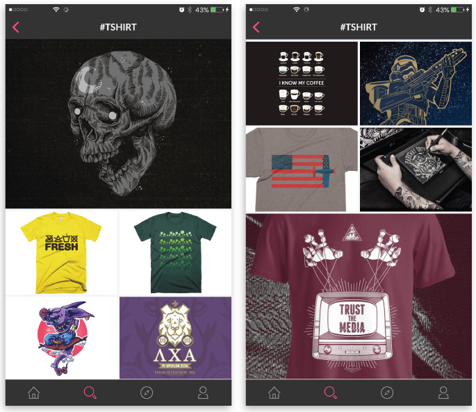 best iOS apps for designers ecommerce dribbble