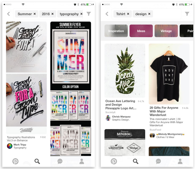 best iOS apps for designers ecommerce pinterest