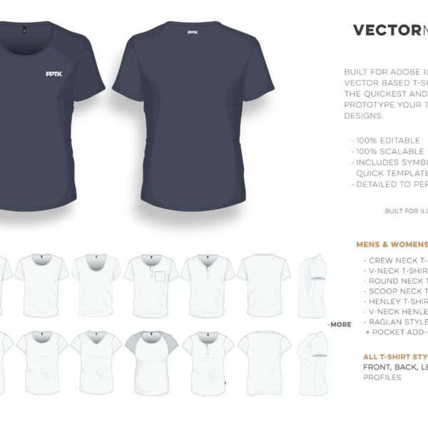 t shirt studio pro vector clothing templates mens womens 02