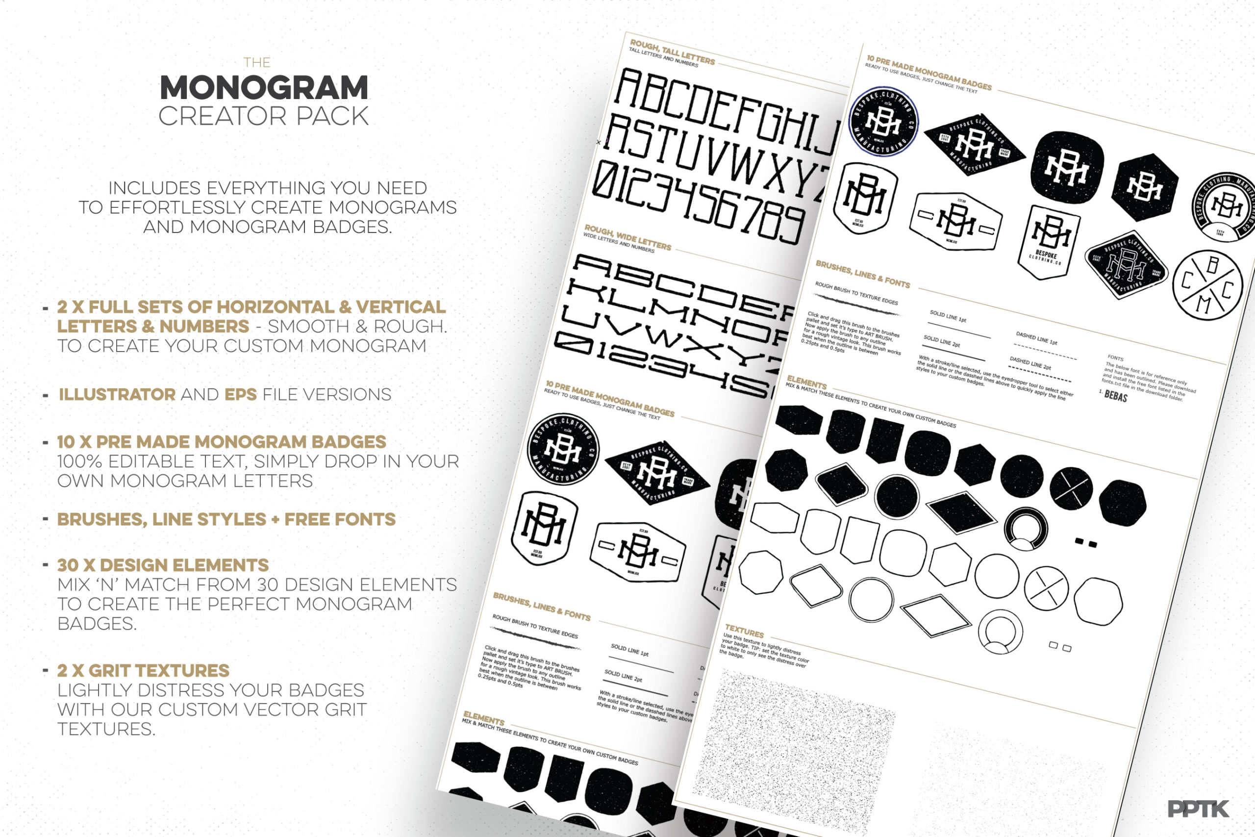 Monogram Creator Pack How To Create